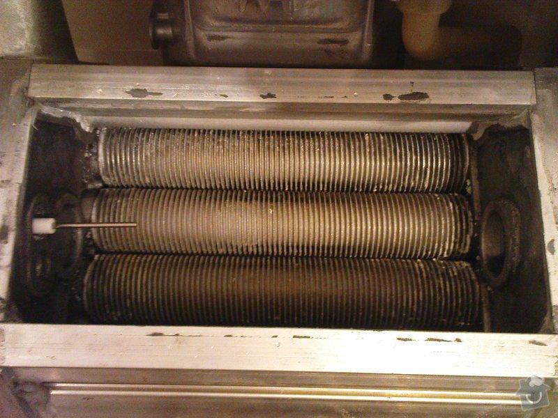 Oprava kotle Buderus a údržba před sezónou: DSC00917