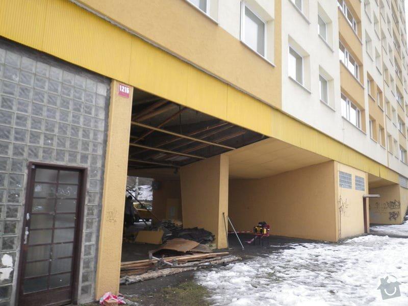 TDI při rekonstrukci bytového domu: IMGP2683