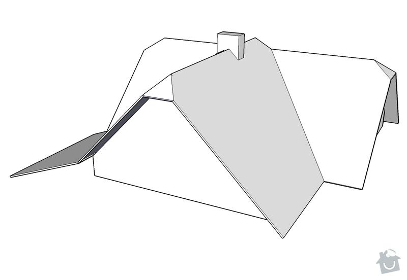 Rekonstrukce střechy RD: Nizbor_-_strecha_2