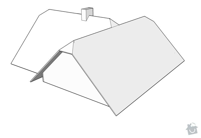 Rekonstrukce střechy RD: Nizbor_-_strecha_3