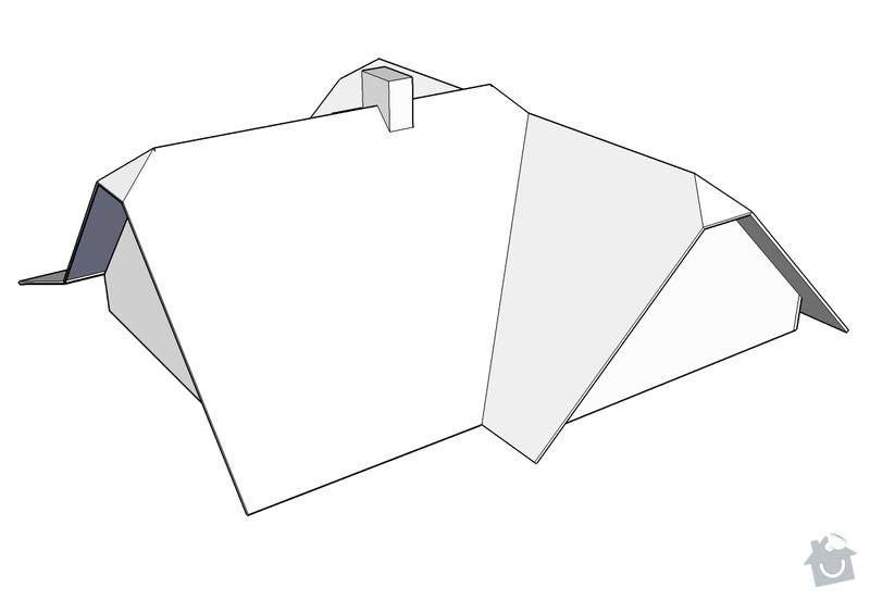Rekonstrukce střechy RD: Nizbor_-_strecha_4