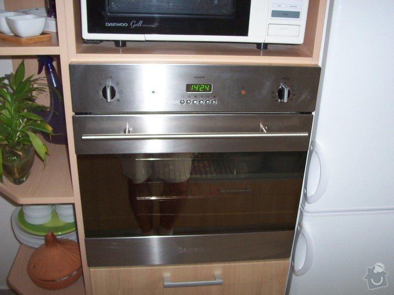Výměna vestavné trouby a instalace indukční varné desky: 100_5365