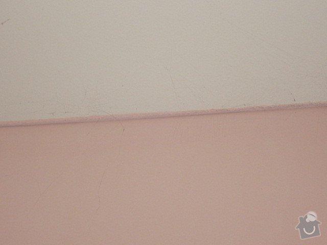 Oprava prasklin v SDK stene a vyspraveni omitky: IMG_0804