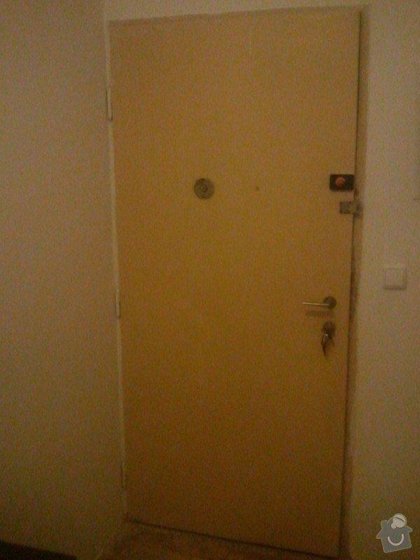 Zabezpeční stávajícíh bezpečnostních dveří: WP_001012
