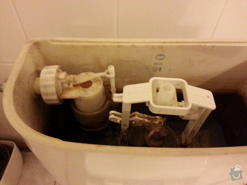 Oprava splachování WC: 20130820_231154