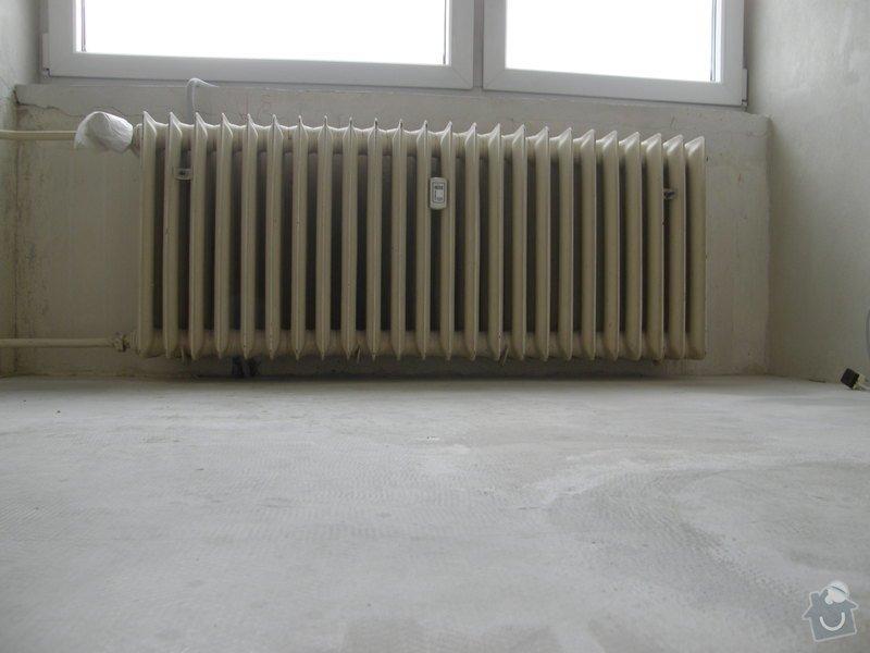 Demontáž 2 ks litinových radiátorů včetně likvidace, : P8200207