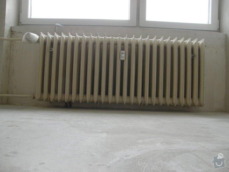 Demontáž 2 ks litinových radiátorů včetně likvidace, : P8200209