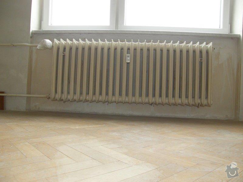 Demontáž 2 ks litinových radiátorů včetně likvidace, : P8200211