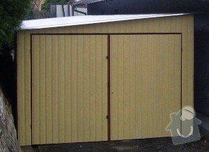 Plechová garáž: SSA40162