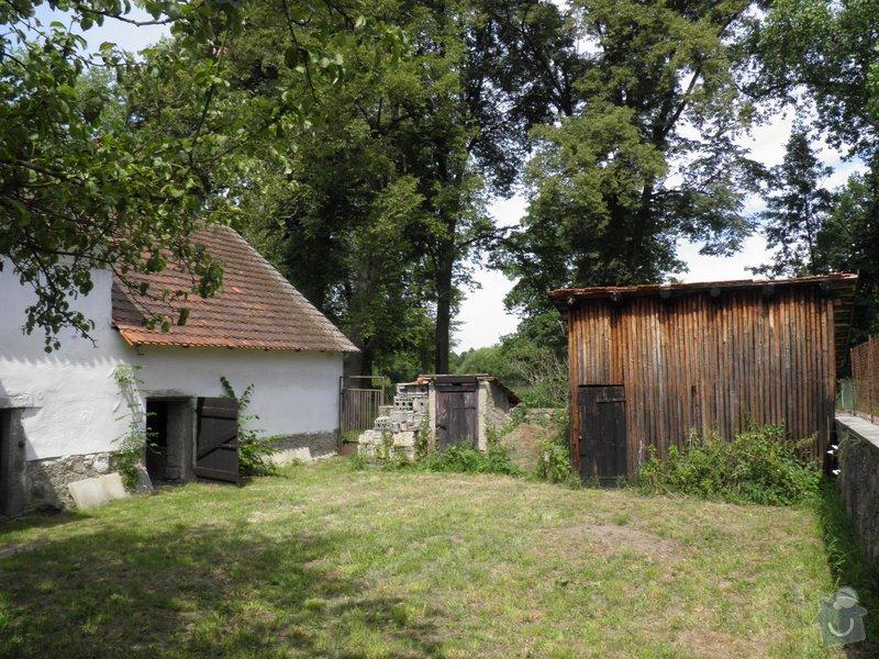 Renovace vrat do stodoly: P7230184