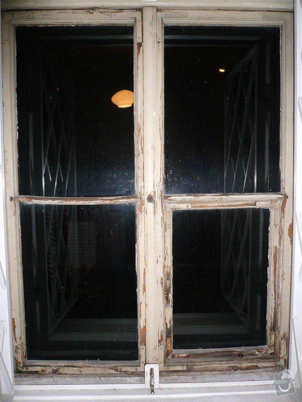 Natření/napuštění bezbarvým Luxolem, oprava a kytování  8mi dřevěných venkovních oken: okno_16-pohled_na_vnitrni_stranu
