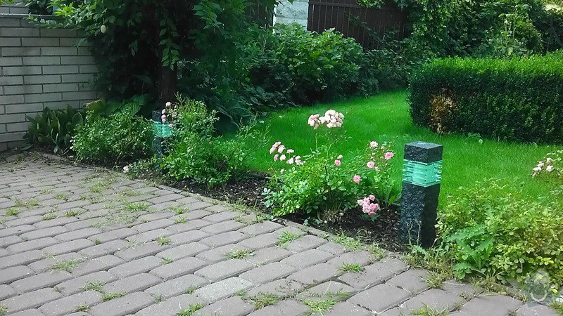Zahradní LED osvětlení, kamerový systém: IMAG2664