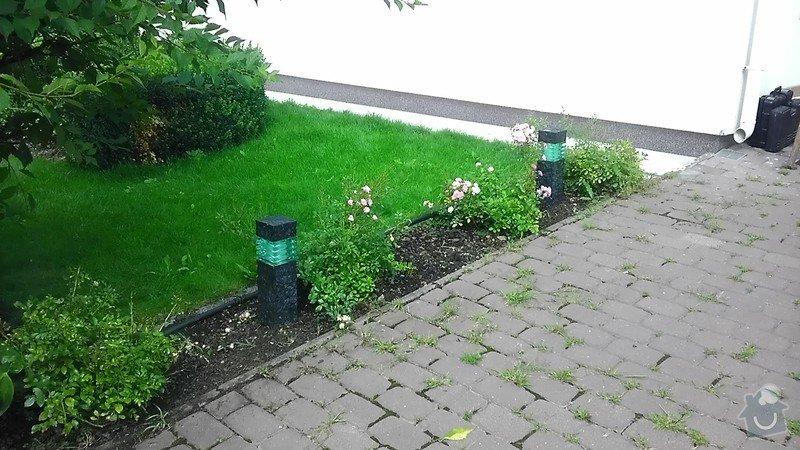 Zahradní LED osvětlení, kamerový systém: IMAG2665
