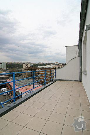 Oprava Terasy - Praha 7 (dlazba + izolace): 02.