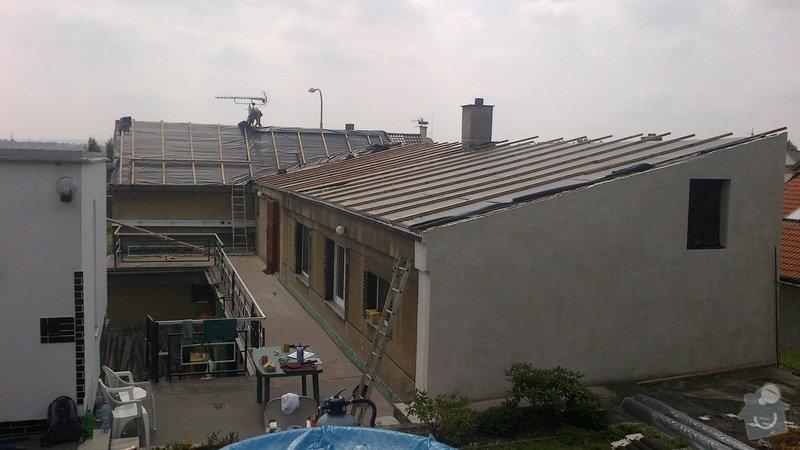 Zhotovení střechy: 2013-08-08-342