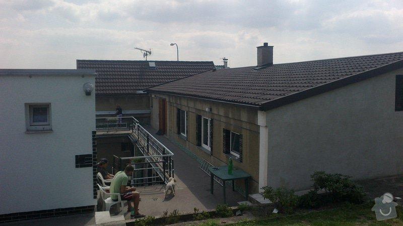 Zhotovení střechy: 2013-08-22-347