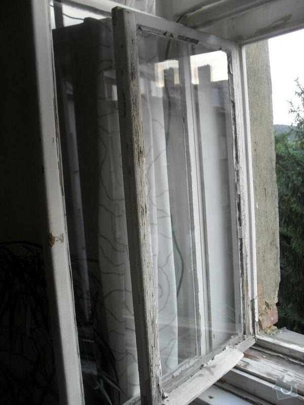 Oprava a nátěr oken: SDC12534