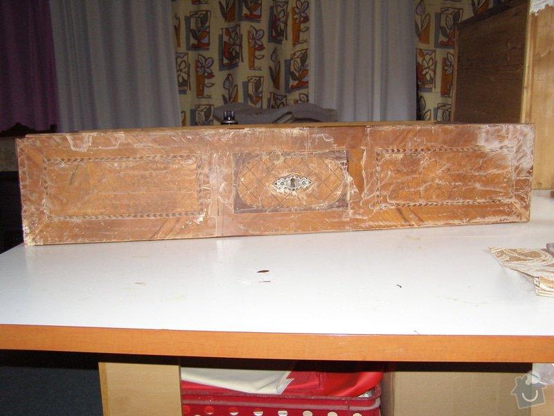 Oprava starožitné komody: PB105344