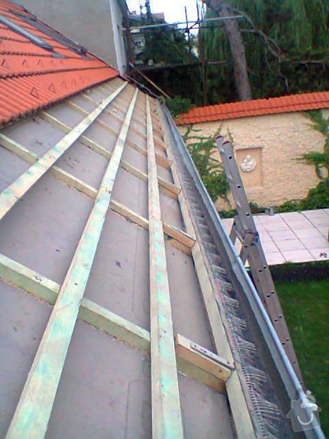 Podbití střechy RD: Fotografie0803