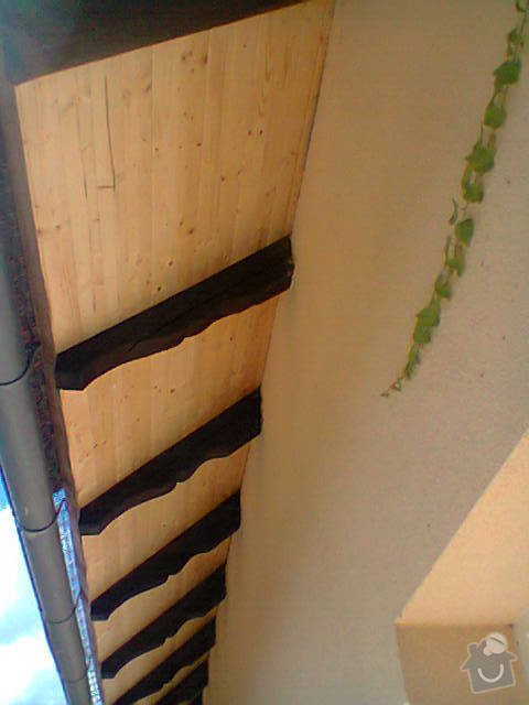 Podbití střechy RD: Fotografie0820