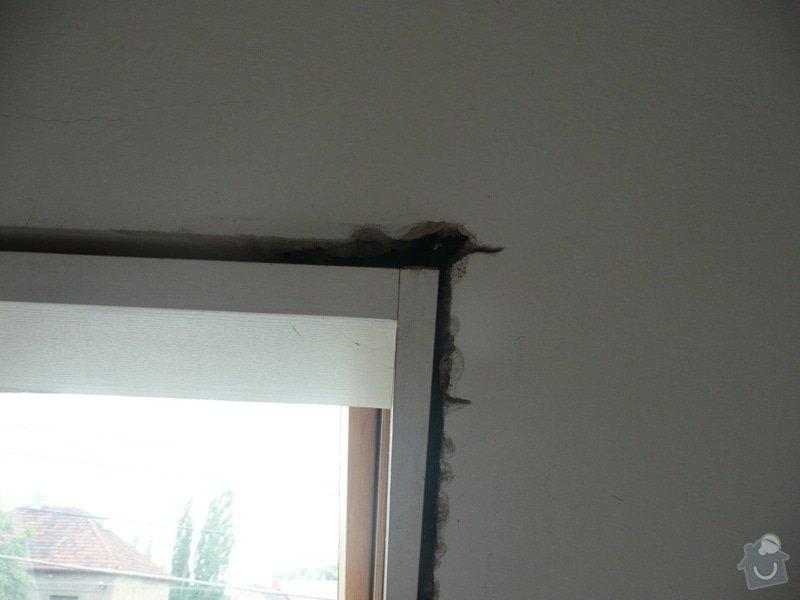 Osazení střešních oken sádrokartonem + 1 příčka: P1040229