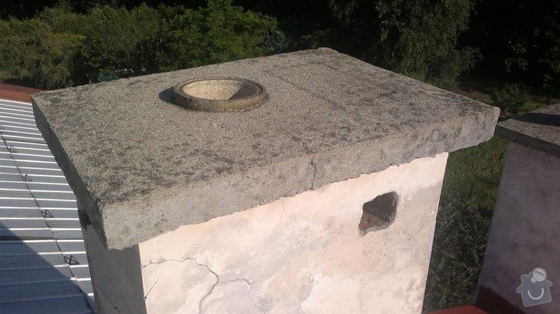 Vyvložkování komínu pro kondenzační kotel: 2013-08-05-142