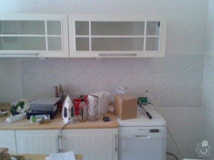 Obložení kuchyně včetně vytrhání starých obkladů: WP_000362