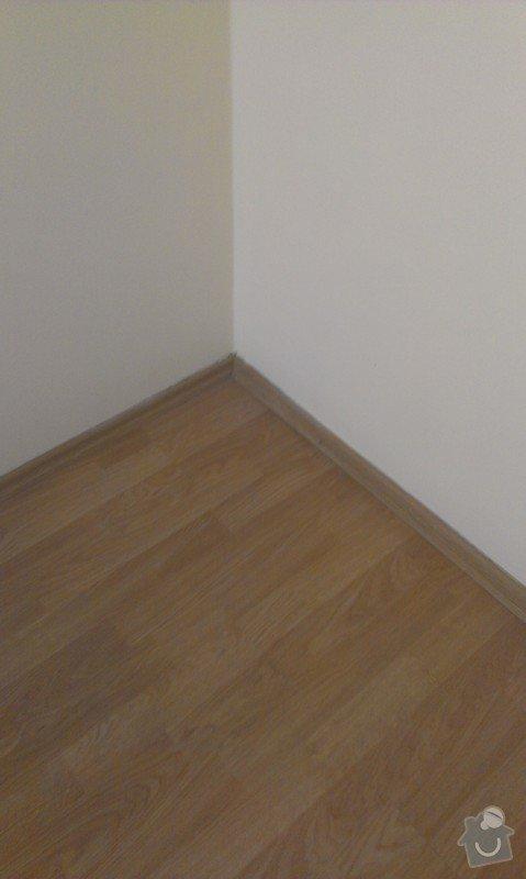 SPECHA! Sadrokarton, polepeni skrine folii, vymena zasuvek, instalace novych podlahovych list: IMAG2487