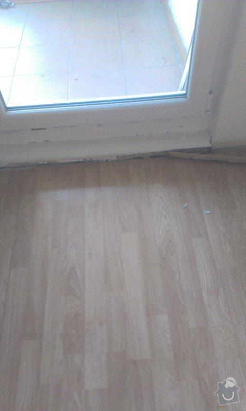 SPECHA! Sadrokarton, polepeni skrine folii, vymena zasuvek, instalace novych podlahovych list: IMAG2490