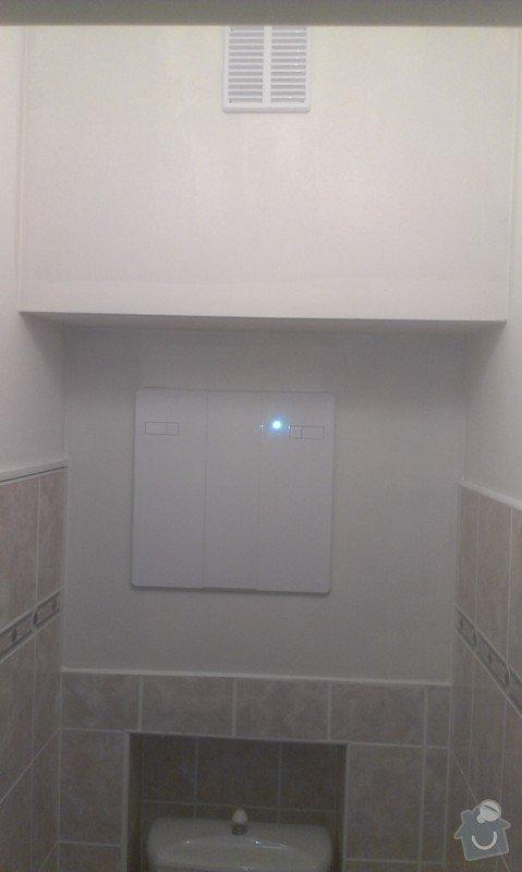SPECHA! Sadrokarton, polepeni skrine folii, vymena zasuvek, instalace novych podlahovych list: IMAG2509