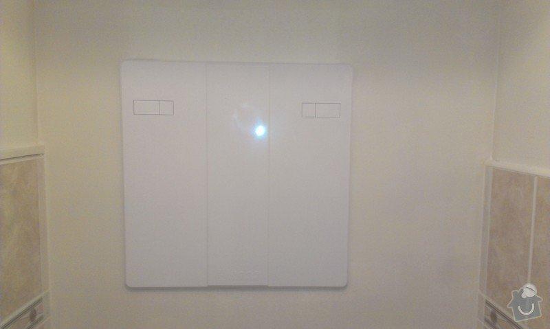 SPECHA! Sadrokarton, polepeni skrine folii, vymena zasuvek, instalace novych podlahovych list: IMAG2511