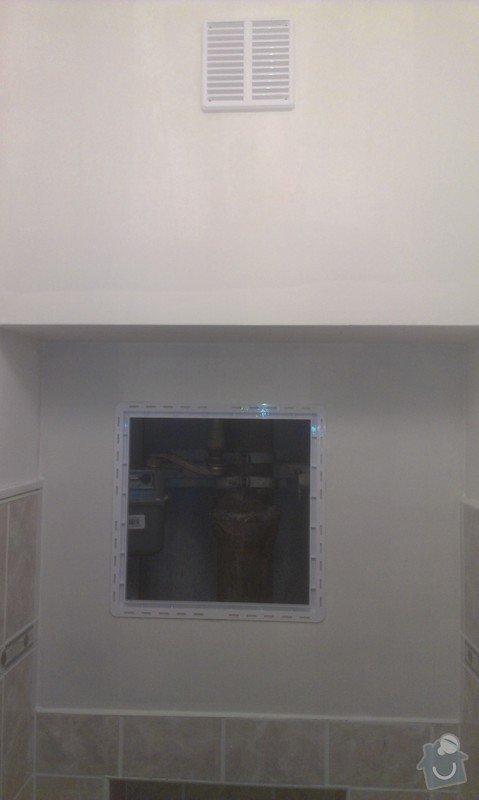 SPECHA! Sadrokarton, polepeni skrine folii, vymena zasuvek, instalace novych podlahovych list: IMAG2514