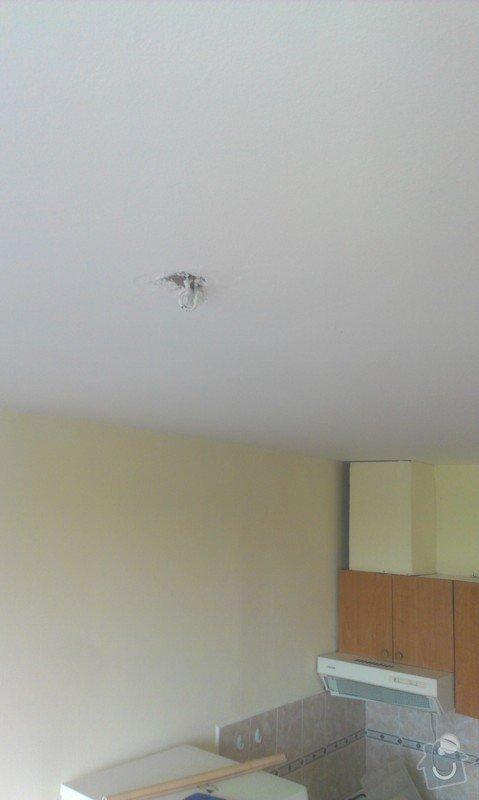 SPECHA! Sadrokarton, polepeni skrine folii, vymena zasuvek, instalace novych podlahovych list: IMAG2524