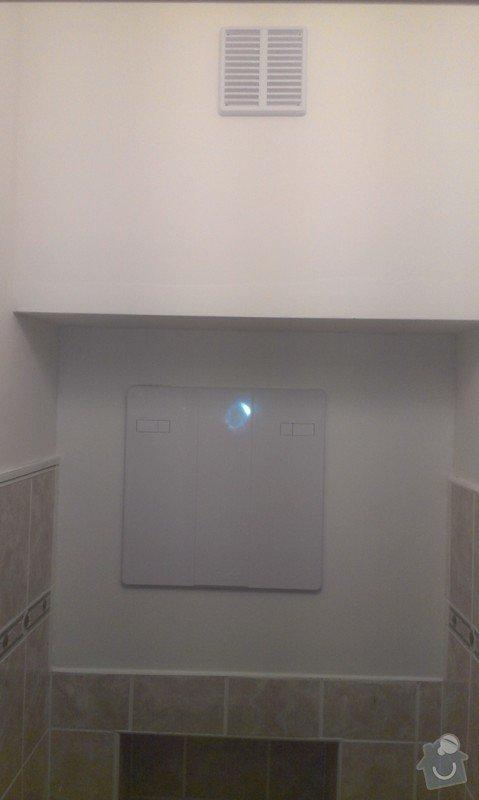 SPECHA! Sadrokarton, polepeni skrine folii, vymena zasuvek, instalace novych podlahovych list: IMAG2529