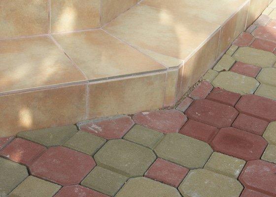 Oprava izolace balkónu a pokládka dlažby