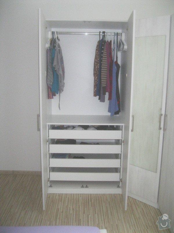 Výroba šatní skříně: 066