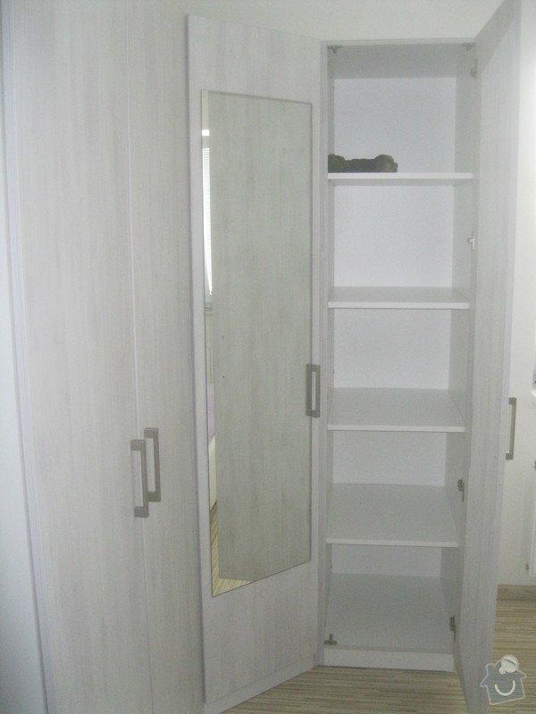 Výroba šatní skříně: 069
