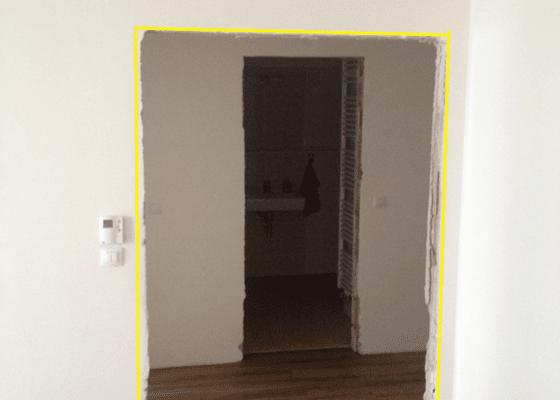 Omítnutí stavebního otvoru