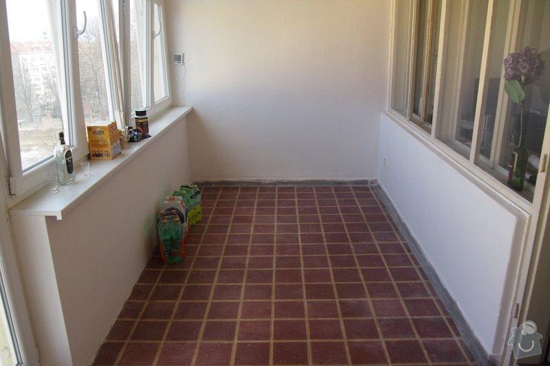 Veškerá příprava pro instalaci kuchyňské linky: P3160291