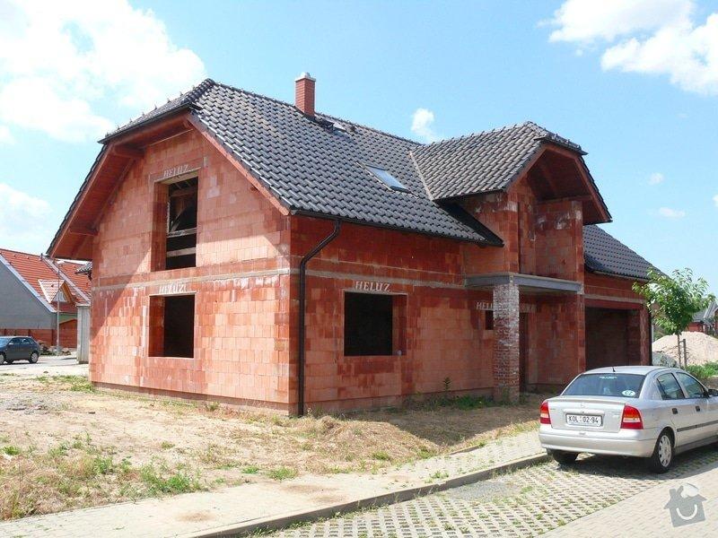 Základová deska, hrubá stavba a střecha RD: P1400720