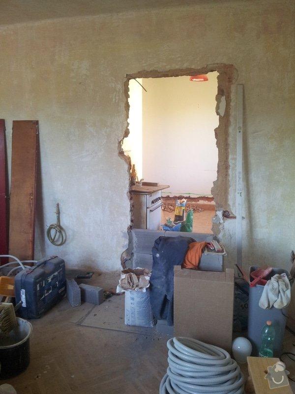 Rekonstrukce bytu: Rozpracovanost4
