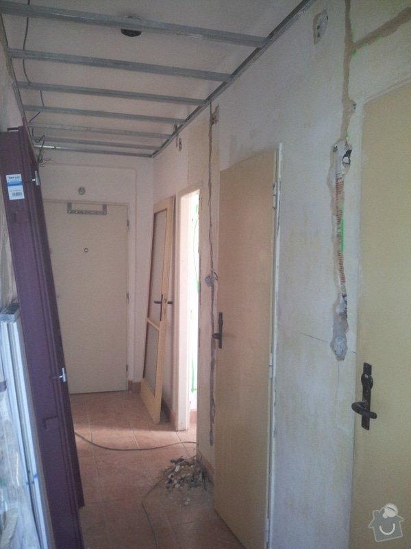 Rekonstrukce bytu: Rozpracovanost2