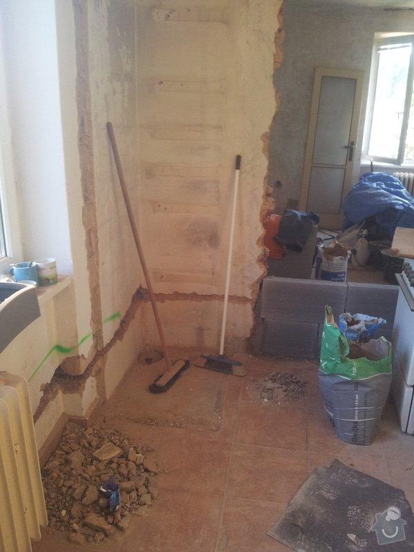 Rekonstrukce bytu: Rozpracovanost1