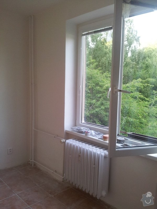 Rekonstrukce bytu: Loznice_nova