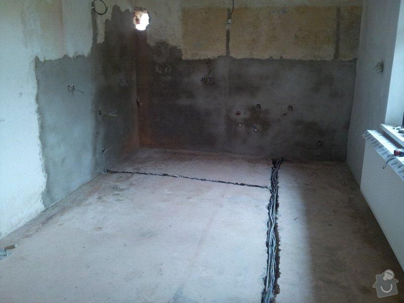 Rekonstrukce RD: rozpracovanost_kuchyn