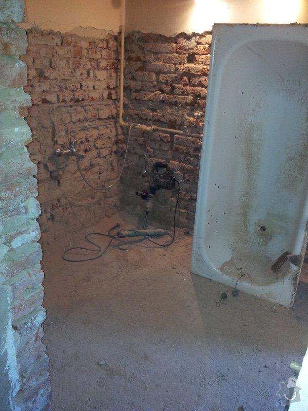 Rekonstrukce RD: rozpracovanost_koupelna2