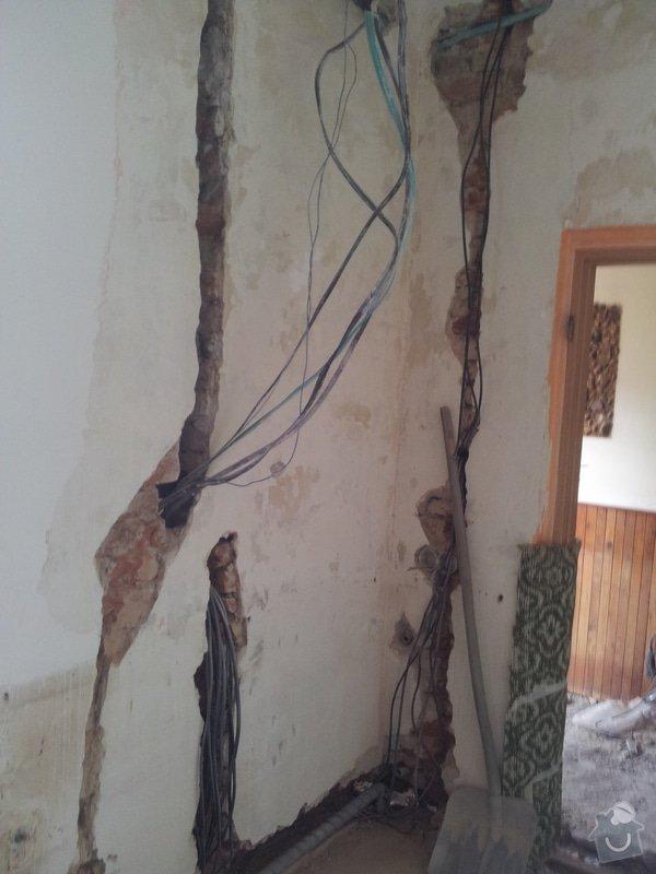 Rekonstrukce RD: rozpracovanost_elektro3