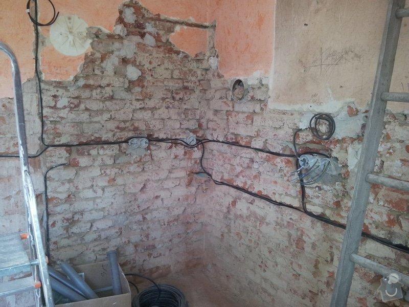 Rekonstrukce RD: rozpracovanost_elektro2