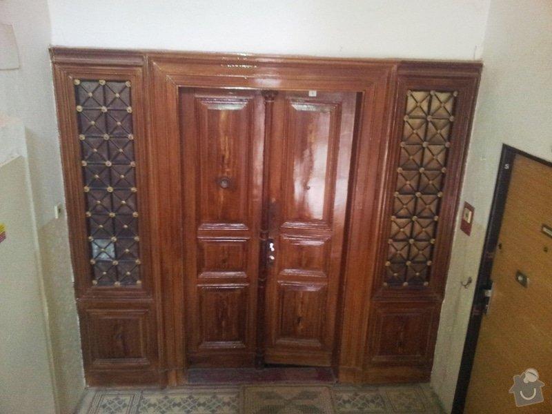 Renovace lakovaných dveří: 20130827_095554