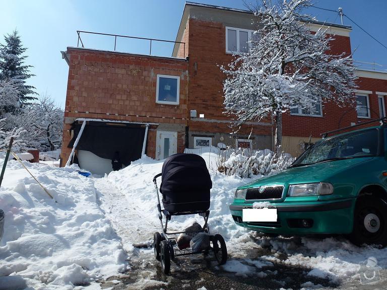 Zateplení domu: severnipohled